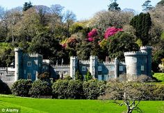 Superb collection: Allow plenty of time to explore Caerhays Castle in Cornwall www.dailymail.co.uk