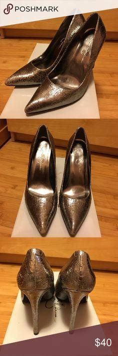 Selling this Jessica Simpson Nolita Heels on Poshmark! My username is: leanneiv. #shopmycloset #poshmark #fashion #shopping #style #forsale #Jessica Simpson #Shoes