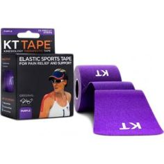 KT Tape Cotton Precut Purple