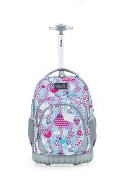 dc308c96d8 Tilami New Antifouling Design 18 Inch Oversized Load Wheeled Rolling  Backpack Luggage for Kids Rainy Day