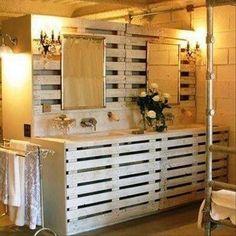 Pallet Ideas for The Bathroom