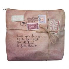 Paper Plane toiletries bag