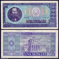 featuring Nicolae Bălcescu and the coat of arms of Romania on the obverse side, and the Ateneul Român Concert Hall in Bucharest on the reverse side. Romanian Flag, Character Art, Character Design, Thinking Day, Coin Collecting, Coat Of Arms, My Memory, Nostalgia, The 100