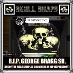 """I Salute You Uncle... R.I.P."" - - - - - N-A-M-E-S - - - - - #fly #flyday #friday #dope #hiphop #44th #anniversary #aniversario #google #dj #coolherc #1973 #bronx #sedgewick #respect #homage #turntables #scratch #mix #fade #skullsnaps #uncle #drummer #georgebragg #rip #lit #rap #breakdance #graffiti #nameslife   via Instagram"