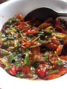 Hmong Boiled Chicken With Squash And Pumpkin Leaves Hmong Pinterest Boiled Chicken Food