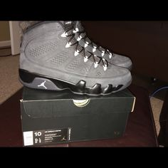 AIR JORDAN 9 RETRO 'ANTHRACITE' Men's size 10 Brand New in the Box; No Trades Jordan Shoes Sneakers