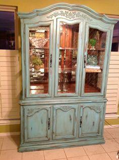 This Would Totally Match My China Pattern! | DIY | Pinterest | Painted China  Cabinets, China Cabinets Andu2026