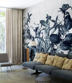 LondonArt Wallpaper Pattern Herbarium 17060-01