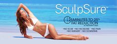 SculpSure™ 25 Minutes to 25% Fat Reduction in Treatment Area. No Scar,