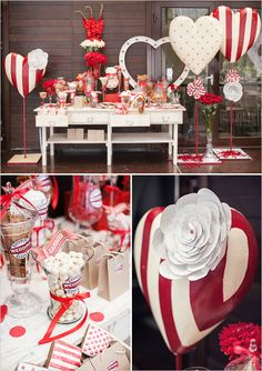 Red and White Retro Wedding. Captured By: Polina Kholodova Photography #weddingchicks http://www.weddingchicks.com/2014/08/28/red-and-white-retro-wedding/
