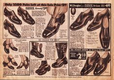 1930s Fashion for Men & Boys | RetroWaste Shoes