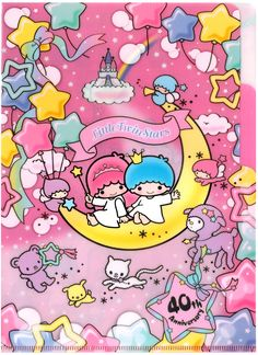 Sanrio Little Twin Stars Jamboree Index File Folder Set