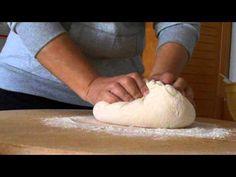 Ψωμακι χωρις ζυμωμα 2ο μερος (πώς γινονται τα διπλωματα) - YouTube