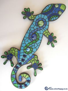 Mosaics - Colour Happy Crochet, Jewellery and Mosaics handmade by Adele White
