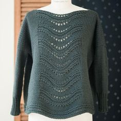 gabrielle pullover knitting pattern - Quince and Co