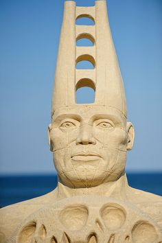 Male figure sand sculpture ... photo by ConstantineD, via Flickr