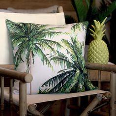 Image of Tropical Palm Cushion