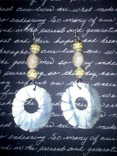 I just listed White Sea Shell Drop Earrings on The CraftStar @TheCraftStar #uniquegifts
