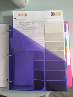 Organizing home project list