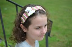Kids Craft Make a Woven Yarn Headband Using Drinking Straws - Bowdabra Blog