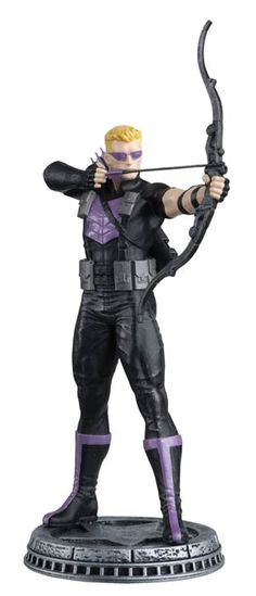 Marvel Avengers Hawkeye White Pawn Chess Piece with Collector Magazine - Entertainment Earth Marvel Heroes, Marvel Characters, Marvel Avengers, Marvel Comics, Eaglemoss Marvel, Mr Sinister, Chess Set Unique, Midtown Comics, Thing 1