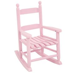 Kids& Rocking Chairs - Childs Pink Rocking Chair *** Be sure to check out this awesome product. Toddler Rocking Chair, Childrens Rocking Chairs, Patio Rocking Chairs, Kids Playroom Furniture, Lawn Furniture, Toddler Furniture, Wooden Table And Chairs, Baby Gallery, For Elise