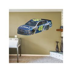 Nascar Jimmie Johnson Wall Decal by Fathead, Multicolor
