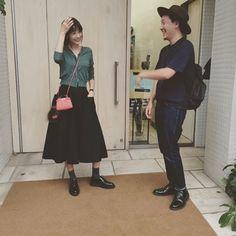 Instagramで発見☆ミニバッグコーデ③ヨンアさん×FENDI