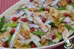 Блинный салат - кулинарный рецепт