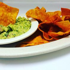 House made tortilla chips with made to order guacamole!