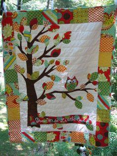 woodland animals quilt pattern - Google Search