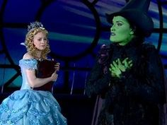 "Tony Awards Performance - ""For Good"" from Wicked - current Broadway leads performing Broadway Theatre, Musical Theatre, Broadway Shows, Tony Award, The Witches Of Oz, Wizard Of Oz 1939, Wicked, Dorothy Gale, Defying Gravity"