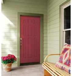Front door, color Im going for! | Kids Korner | Pinterest | Front ...