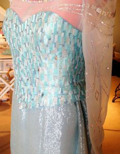the most accurate Elsa costume I've seen so far