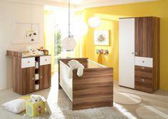 "Babyzimmer / Kinderzimmer ""Wiki I"" in Walnuss Nb. -NEU"