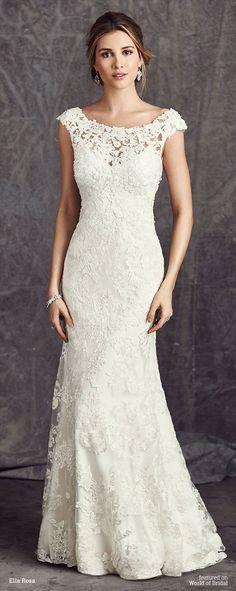 Wonderful 59 Stunning and Gorgeous V-neck Wedding Dresses | GirlYard ...