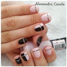 581 Me gusta, 12 comentarios - Alessandra Camilo SC (@alescamilo_) en Instagram Prom Nails, Nail Polish Colors, Nail Designs, Hair Beauty, Nail Art, Makeup, Instagram, Leopard Nails, Nail Arts