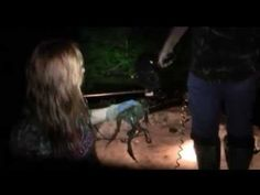 Country Music Artist, Katie Knight and Mountain Man of Duck Dynasty - Frog Hunting~Hilarious 12 minutes!!