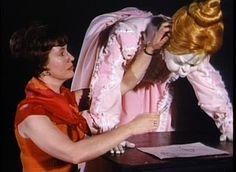 Imagineer Harriet Burns (left) (Walt Disney Imagineering)