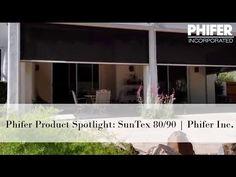 Phifer SunTex 80 90 Solar Screen Fabric Product Overview