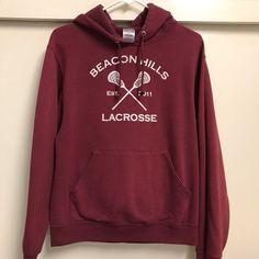 Teen Wolf Merch, Teen Wolf Shirt, Teen Wolf Lacrosse, Beacon Hills Lacrosse, Wolf Hoodie, Wolf Life, Teen Tv, Wolf Wallpaper, Aesthetic Clothes