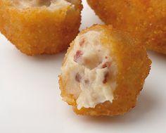 Deliciosas Croquetas de Jamón Ibérico. Pruébalo en www.ameztoi.com