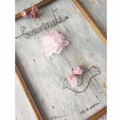 """""""Mi piace"""": 219, commenti: 18 - Daniela Corti•Wire & Textile (@filidipoesia) su Instagram: """"Welcome baby girl and welcome to this new week  Rallentare i ritmi e vivere intensamente ogni…"""""""