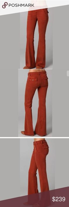NWT $239 TEXTILE ELIZABETH AND JAMES Red Pants NWT $239 TEXTILE ELIZABETH AND JAMES C15 Red Neville Boot Cut Pants Size 26  Your satisfaction is our #1 priority.  This is why we ship twice daily Monday thru Saturday to get the item to you as quickly as possible!! :).  If for any reason you are not 100% satisfied please message us and we will work with you to make it right!!      -Retails Price: $239 + TAX -Material: 98% Cotton, 2% Elastane -small hole on the left front pant leg but adds to…