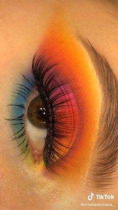 Edgy Makeup, Baddie Makeup, Purple Eye Makeup, Makeup Eye Looks, Eye Makeup Steps, Eye Makeup Art, Colorful Eye Makeup, Eyeshadow Looks, Skin Makeup