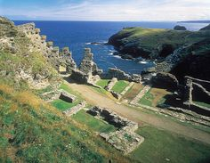 Tintagel castle is my foremost favourite castle (narrowly beating out Neuschwanstein and Ightham Mote).  If ever I was to end up with an outrageous sum of money, I would love to build a replica of Tintagel, or at least based on the areas of the castle that have yet to be claimed by the sea.
