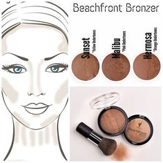 Another product to love - Younique's Beachfront Bronzer!! Apply it in areas of the face where the sun naturally hits for a sun-kissed glow skin. ????