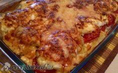 Szeretem a csirkemellet, ezért elkészítettem :) Easy Chicken Recipes, Meat Recipes, Dinner Recipes, Cooking Recipes, Healthy Recipes, Good Food, Yummy Food, Hungarian Recipes, English Food