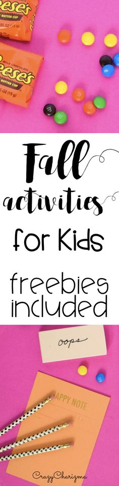 The Ultimate List of Fall Activities for Kids (with freebies) || Halloween and Thanksgiving celebration included! Fall is full of surpises, holidays and fun. Let's celebrate together in your classroom or homeschool. Enjoy the ultimate list of fall activities: free printables, teaching resources, crafts and teaching ideas!