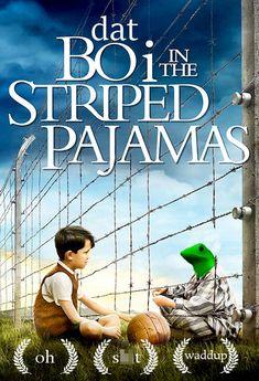 dat boi meme boy in the stripped pajamas